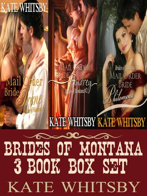 cover image of Brides of Montana 3 Book Box Set (Mail Order Brides)