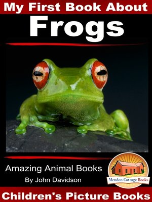 cover image of My First Book About Frogs