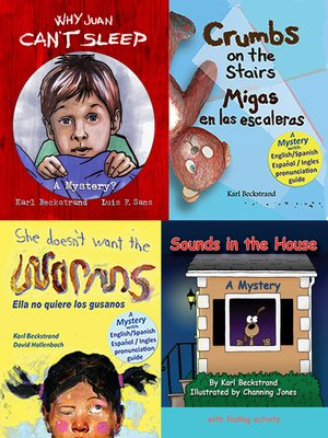 cover image of 4 Mysteries for Kids