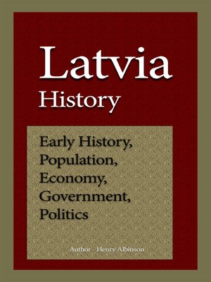 cover image of Latvia History