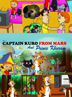cover image of Captain Kuro From Mars and Prince Khuram