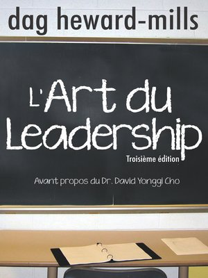 cover image of L'art du leadership