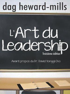 cover image of L'art du leadership
