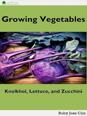 cover image of Growing Vegetables