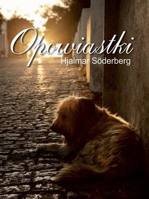 cover image of Opowiastki