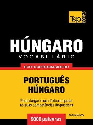 cover image of Vocabulário Português Brasileiro-Húngaro
