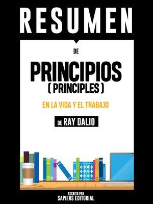 """cover image of Resumen De """"Principios (Principles)"""