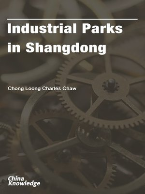 cover image of Industrial Parks in Shangdong