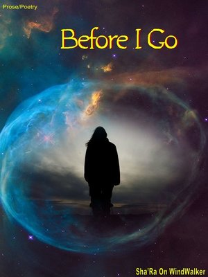 cover image of Before I Go