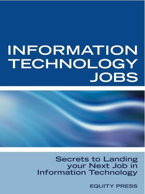 cover image of Information Technology Jobs