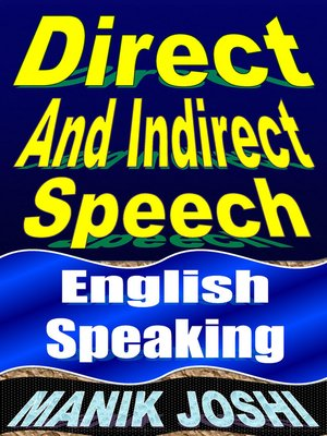 cover image of Direct and Indirect Speech
