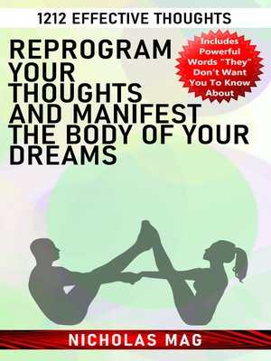 cover image of Reprogram Your Thoughts and Manifest the Body of Your Dreams