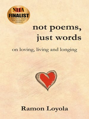 cover image of Not Poems, Just Words
