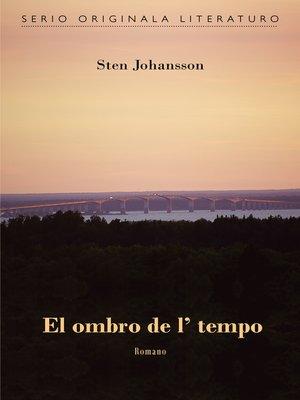 cover image of El ombro de l' tempo (Originala romano en Esperanto)