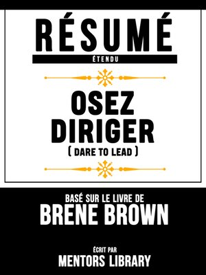 cover image of Resume Etendu