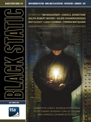 cover image of Black Static #41 Horror Magazine (Jul-Aug 2014)