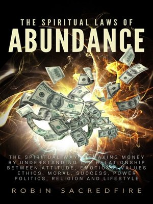 cover image of The Spiritual Laws of Abundance