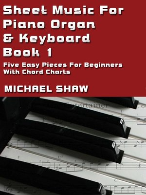 cover image of Sheet Music For Piano Organ & Keyboard