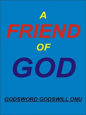cover image of A Friend of God