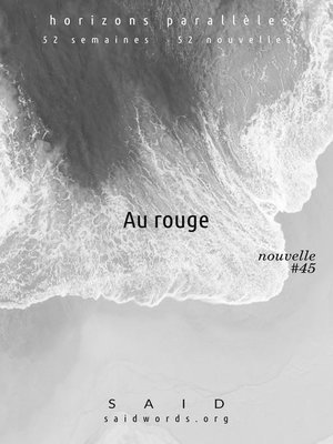 cover image of Au rouge