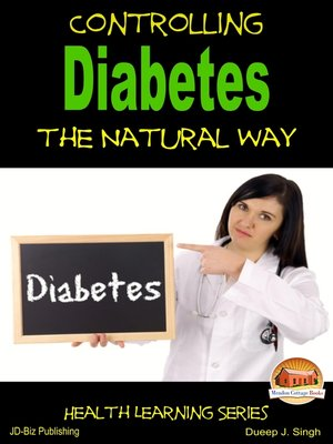 cover image of Controlling Diabetes the Natural Way