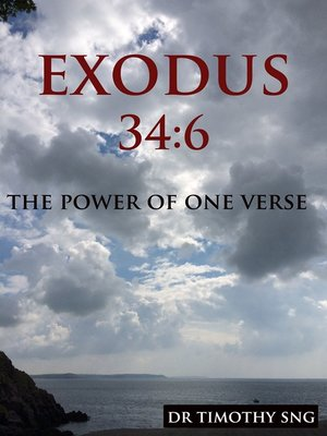 cover image of The Power of One Verse Exodus 34