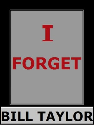 cover image of I Forget
