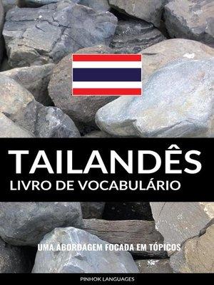 cover image of Livro de Vocabulário Tailandês