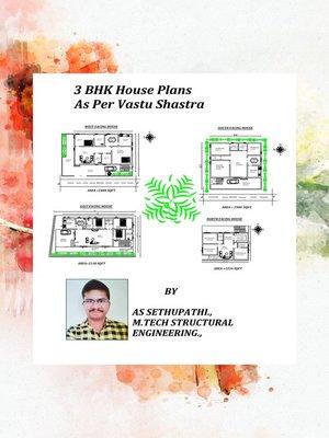 cover image of 3BHK House Plans As Per Vastu Shastra