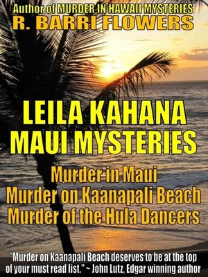 cover image of Leila Kahana Maui Mysteries Bundle