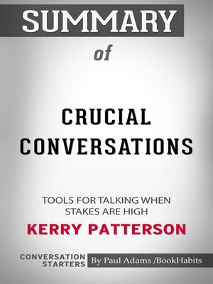 cover image of Summary of Crucial Conversations