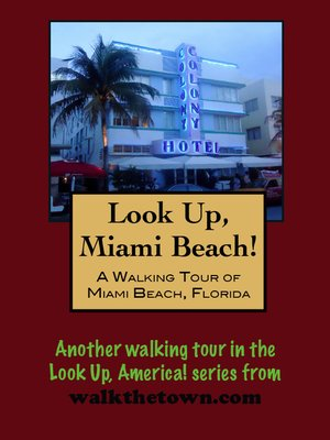 cover image of A Walking Tour of Miami Beach, Florida