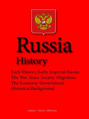 cover image of Russia History