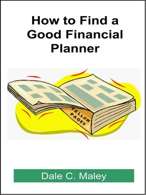 cover image of How to Find a Good Financial Planner