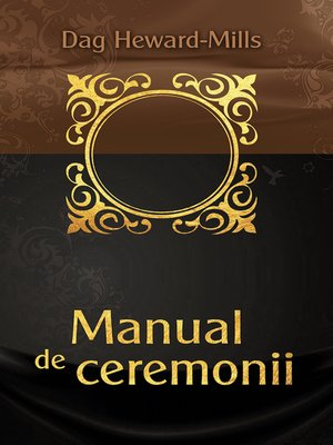 cover image of Manual De Ceremonii