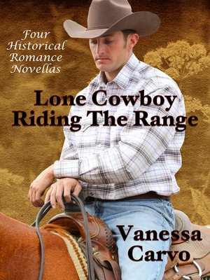 cover image of Lone Cowboy Riding the Range