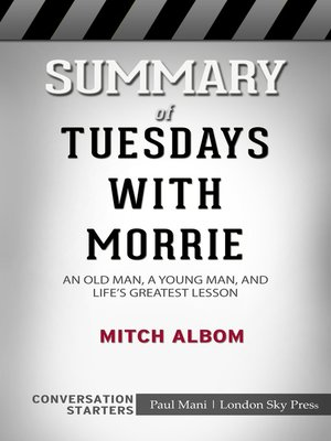 cover image of Summary of Tuesdays with Morrie