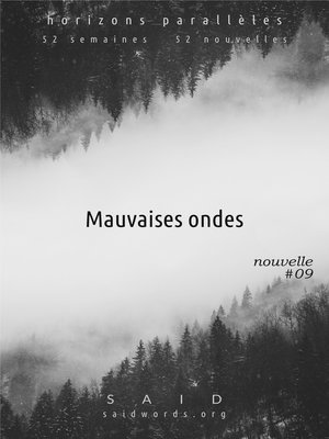 cover image of Mauvaises ondes