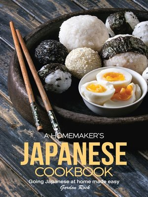 cover image of A Homemaker's Japanese Cookbook