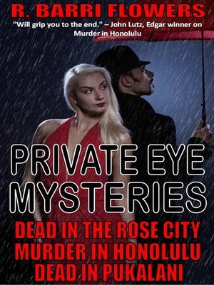 cover image of Private Eye Mysteries