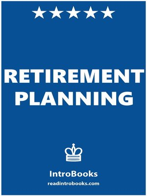 cover image of Retirement Planning