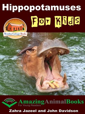 cover image of Hippopotamuses For Kids
