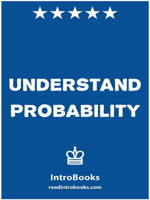 cover image of Understand Probability