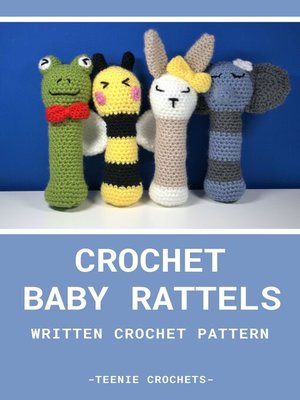 cover image of Crochet Baby Rattle's