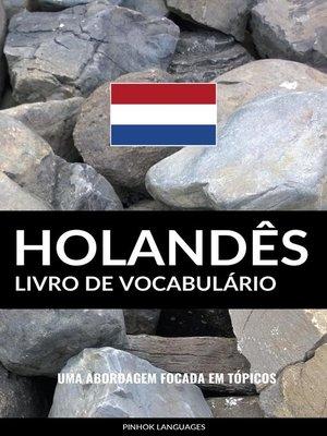 cover image of Livro de Vocabulário Holandês