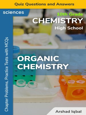 cover image of Organic Chemistry Multiple Choice Questions and Answers (MCQs)