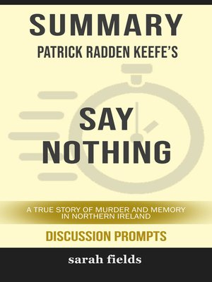 cover image of Summary of Say Nothing