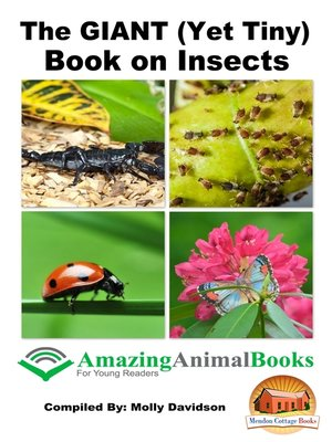 cover image of The GIANT (Yet Tiny) Book on Insects
