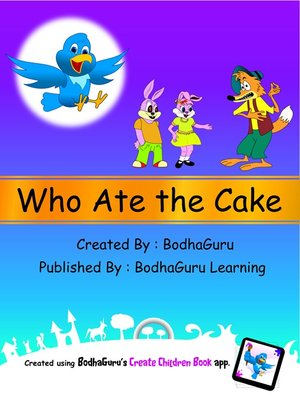 cover image of Who Ate the Cake