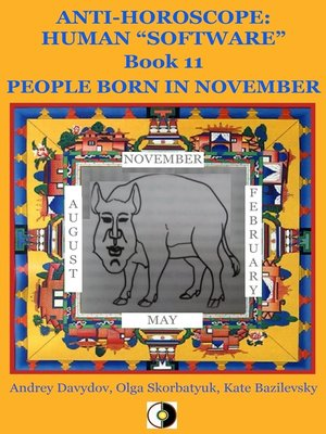 cover image of People Born In November